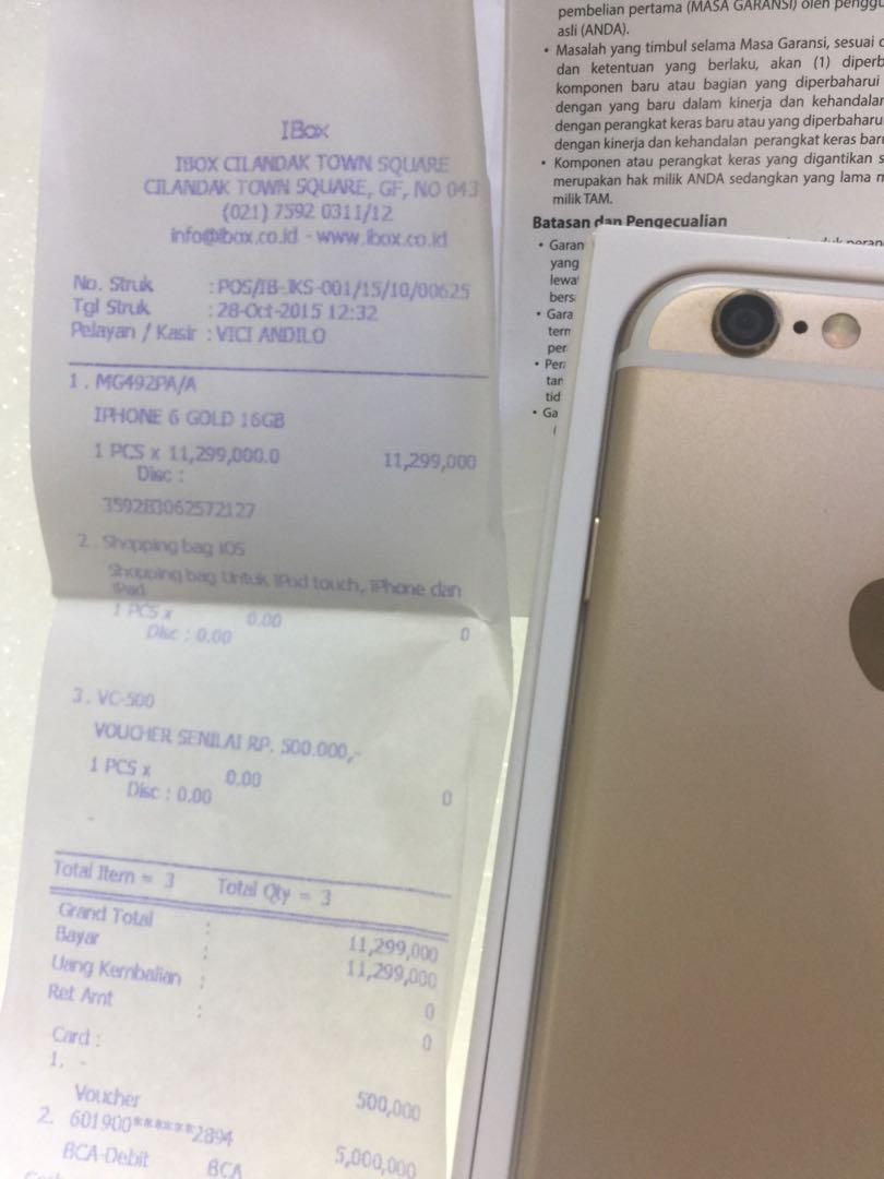 Iphone 6 16gb Ex Ibox Mobile Phones Tablets On Carousell