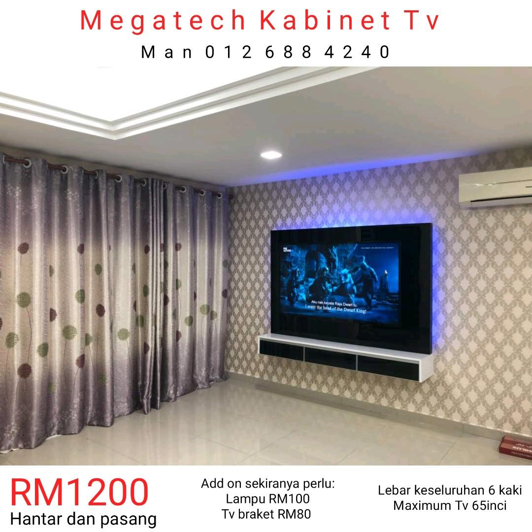 Kabinet Tv Moden Murah Home Furniture Home Decor On Carousell