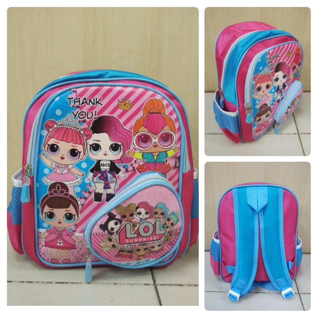 3cc4790c42ee Kids School Bag LOL Surprise