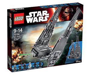 LEGO 75104 Kylo Ren's Command Shuttle Star Wars