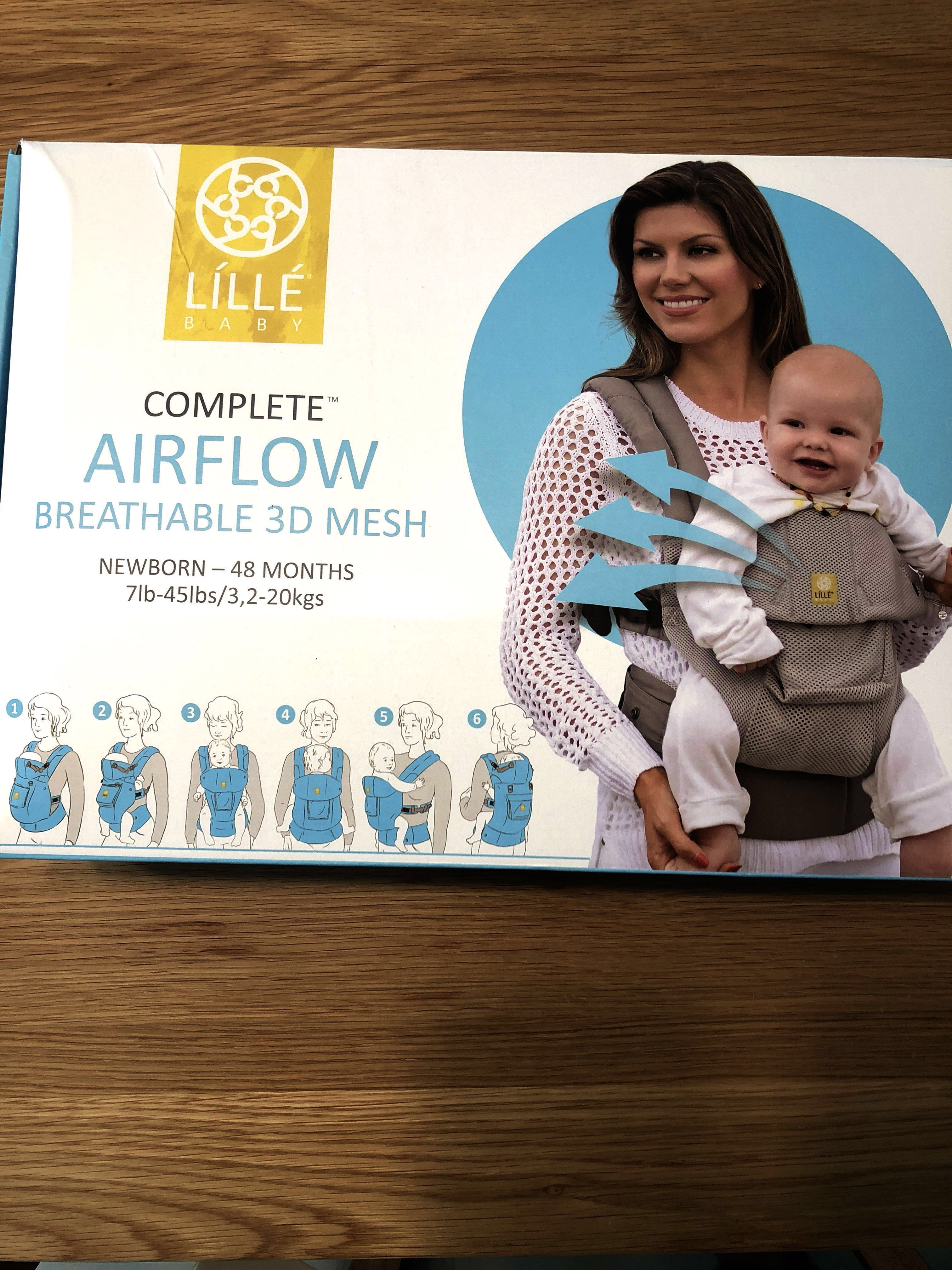 d89bd73ed29 Lillebaby Complete Six Positions AIRFLOW Baby Carrier