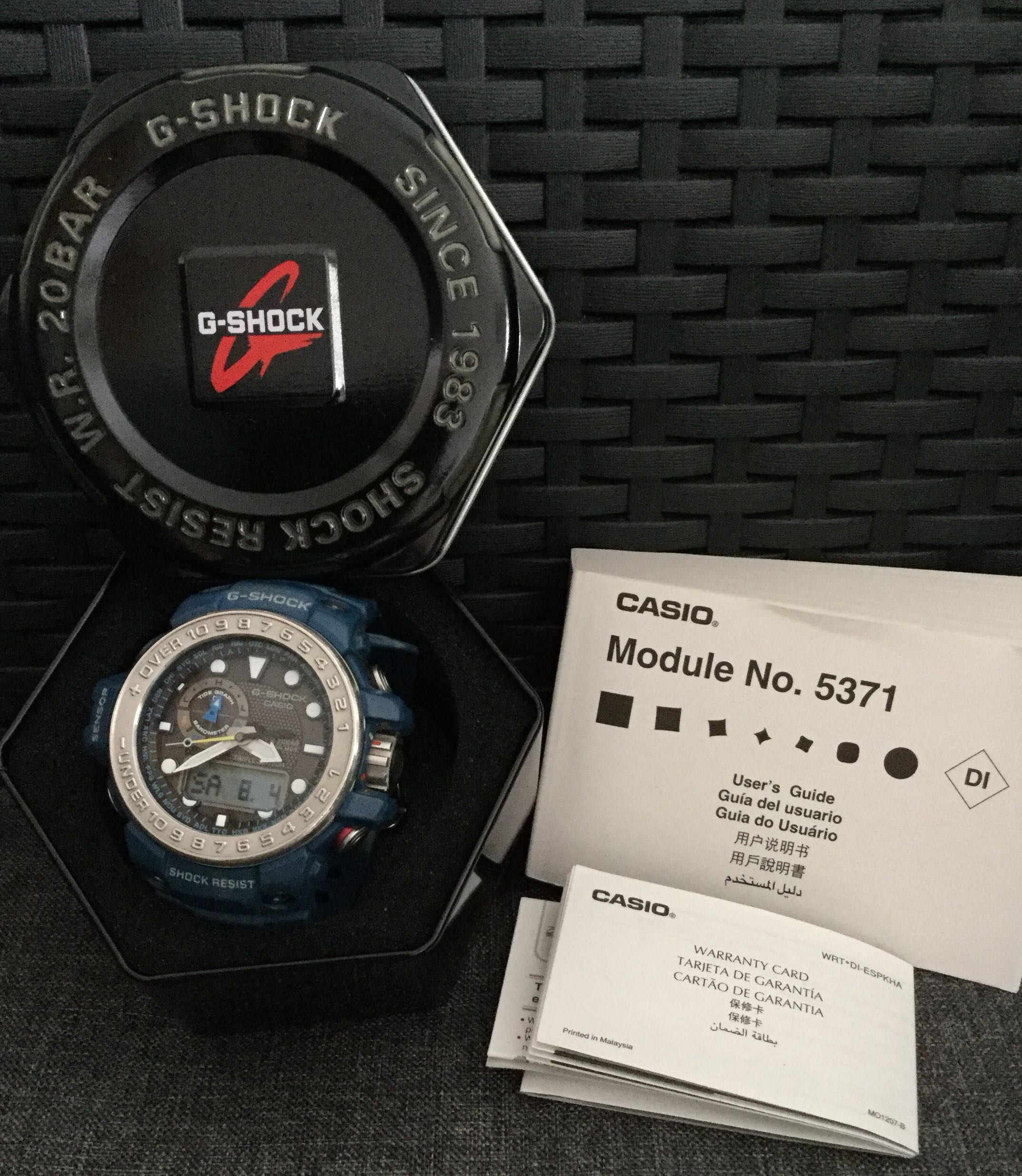 Limited Edition G Shock Men Mens Fashion Watches On Carousell Casio Gst 200cp 2a