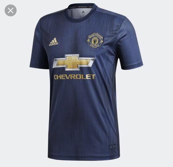 407ecc882 Man utd 2019 jersey boy size m
