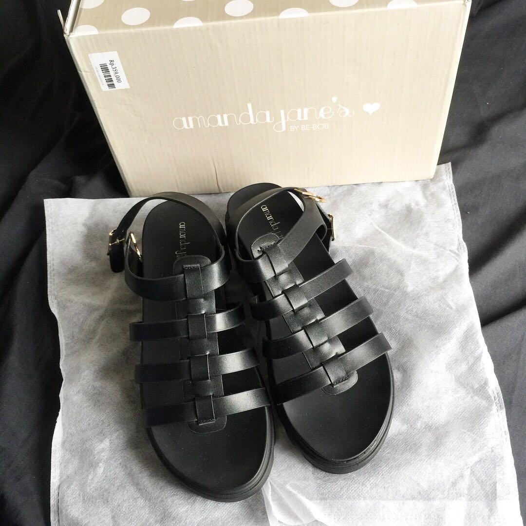 New Sandal Amanda Janes Fesyen Wanita Sepatu Di Carousell Amazara Kendall Black Heels Hitam 39 Photo