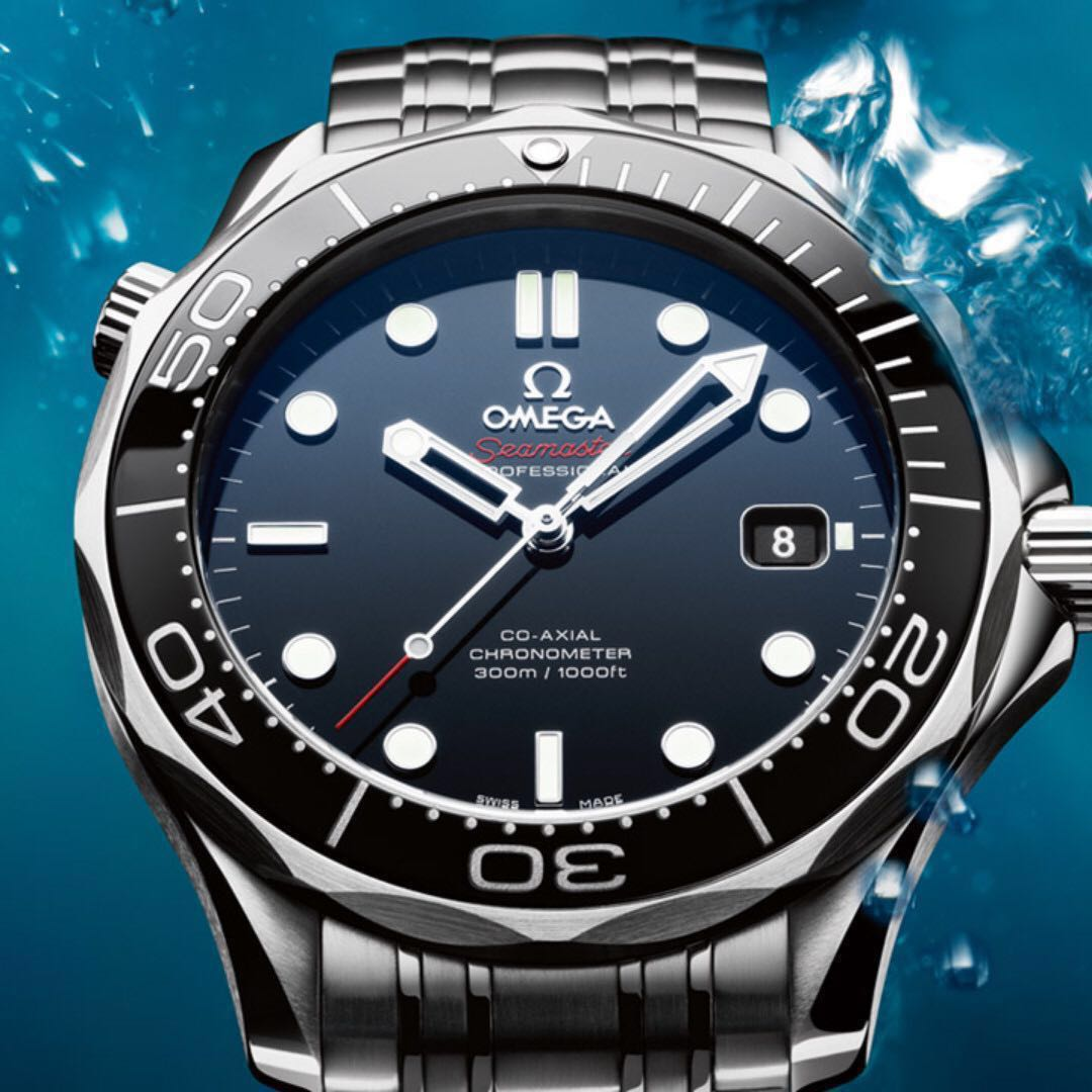 a0996a0613c Omega Seamaster Diver 300m Co-Axial 41 mm Black