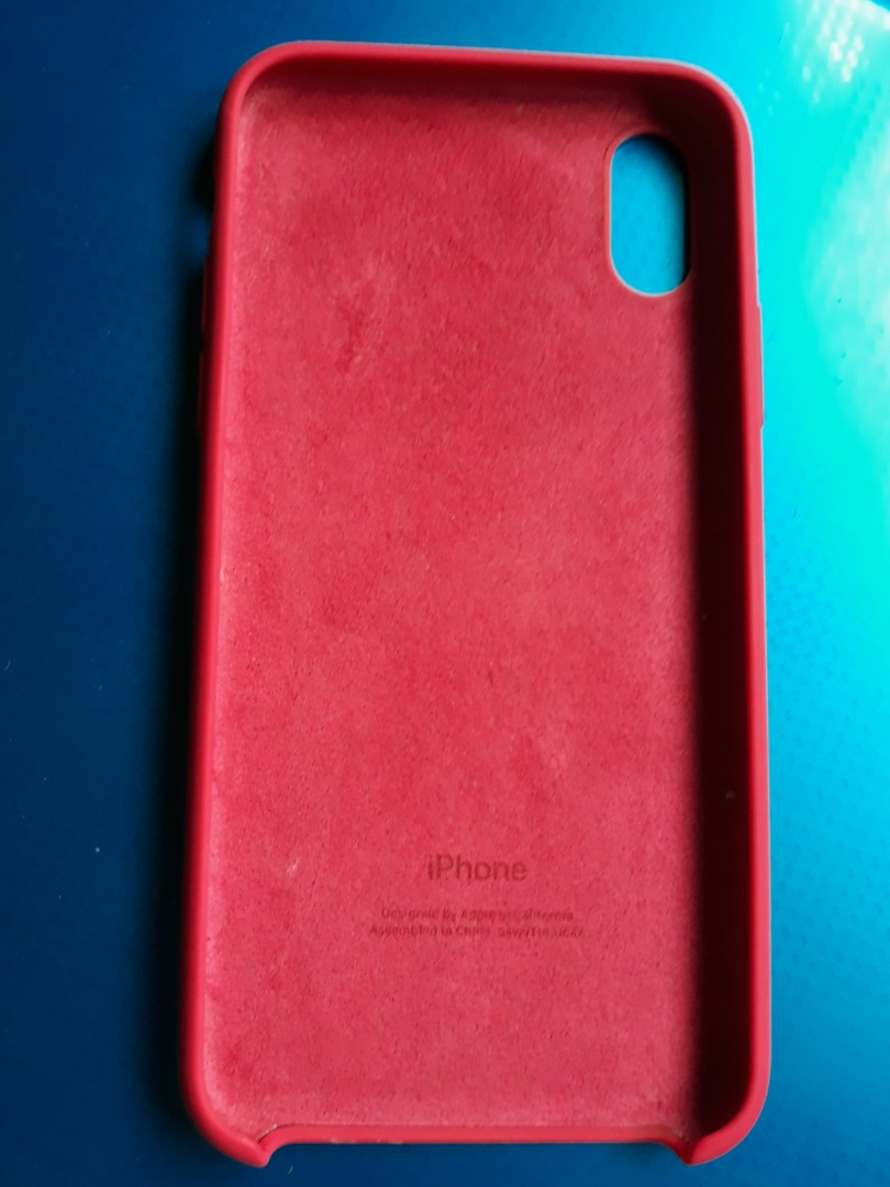 new concept d16a6 3fa7d Original iPhone X Silicone Case - Rose Red - Seasonal Apple Color ...