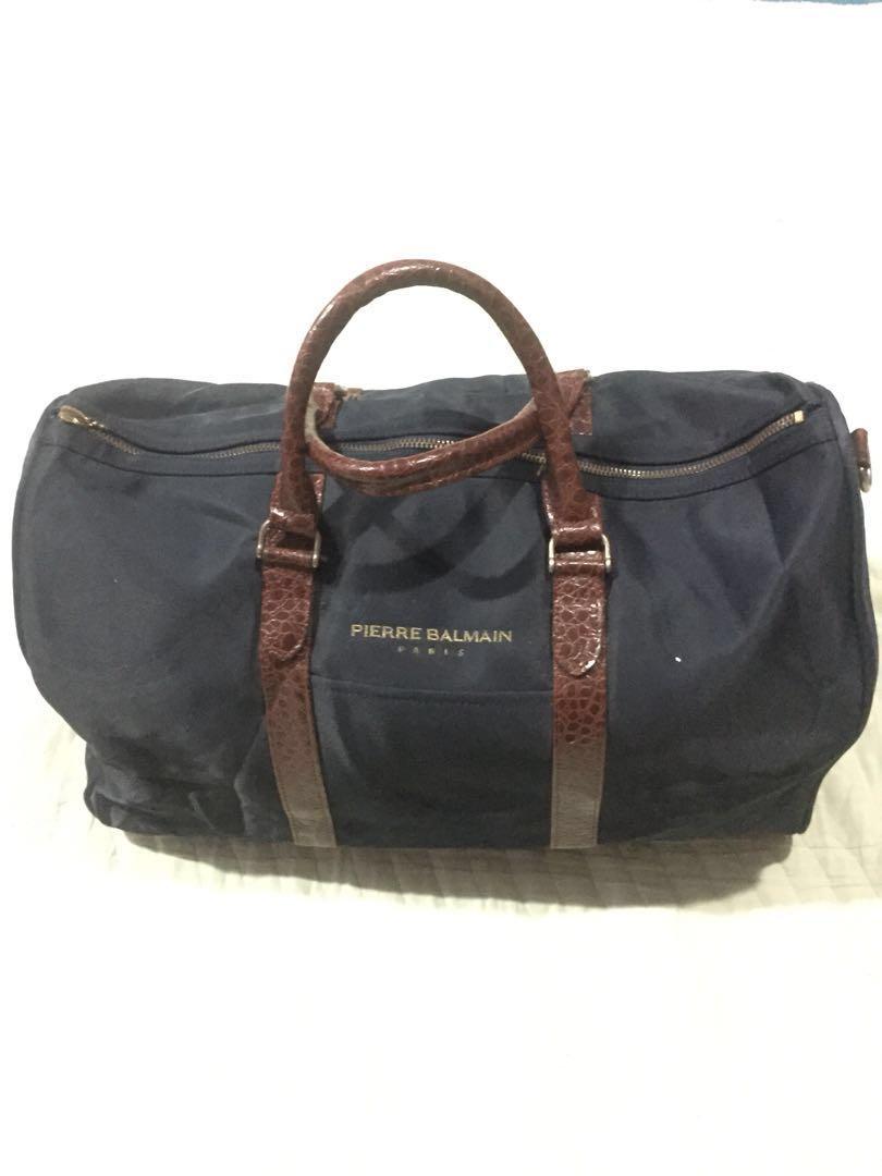 16eb8375af6 Pierre Balmain Travel Bag, Women's Fashion, Bags & Wallets on Carousell