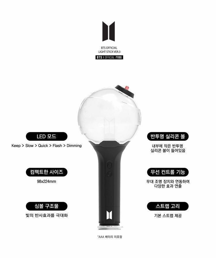 Bts Army Bomb: QUICK PO💣 BTS ARMY BOMB VERSION 3