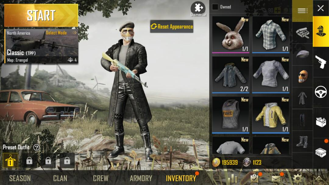 Pubg Mobile Inventory Game And Movie