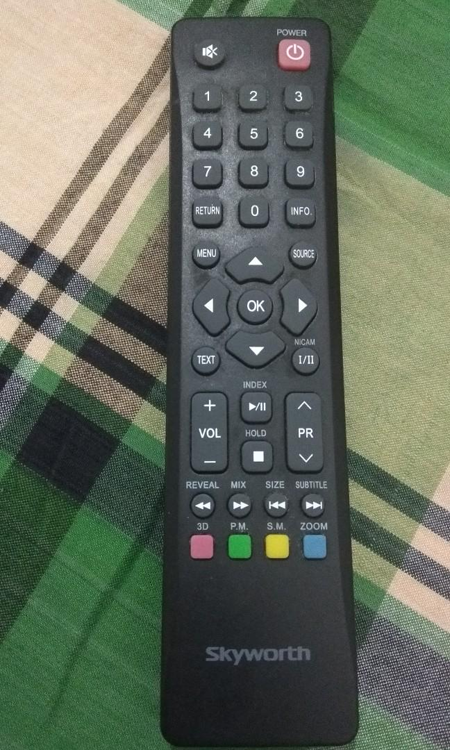 SKY WORTH TV REMOTE on Carousell