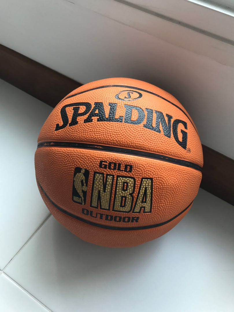 Spalding Basketball NBA GOLD e3b76b16c