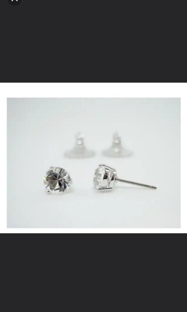 126c5d0a9 Swarovski Solitaire Pierced Earrings 1800046, Luxury, Accessories ...