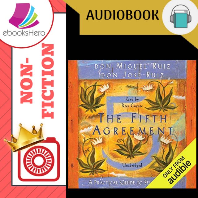 The Fifth Agreement By Don Miguel Ruiz Music Media Cds Dvds