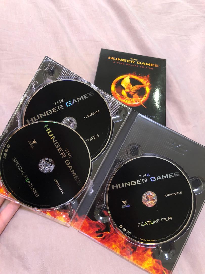 The Hunger Games 3-Disc Deluxe Edition