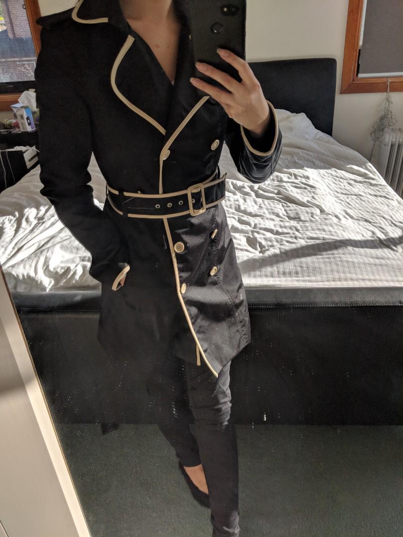 tokito Black and Beige coat