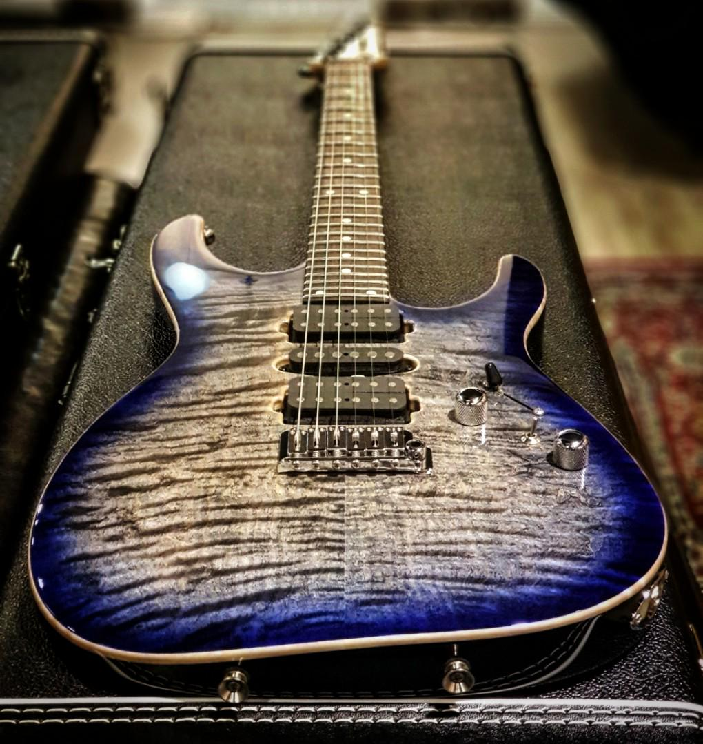 Tom Anderson Angel, Music & Media, Music Instruments on