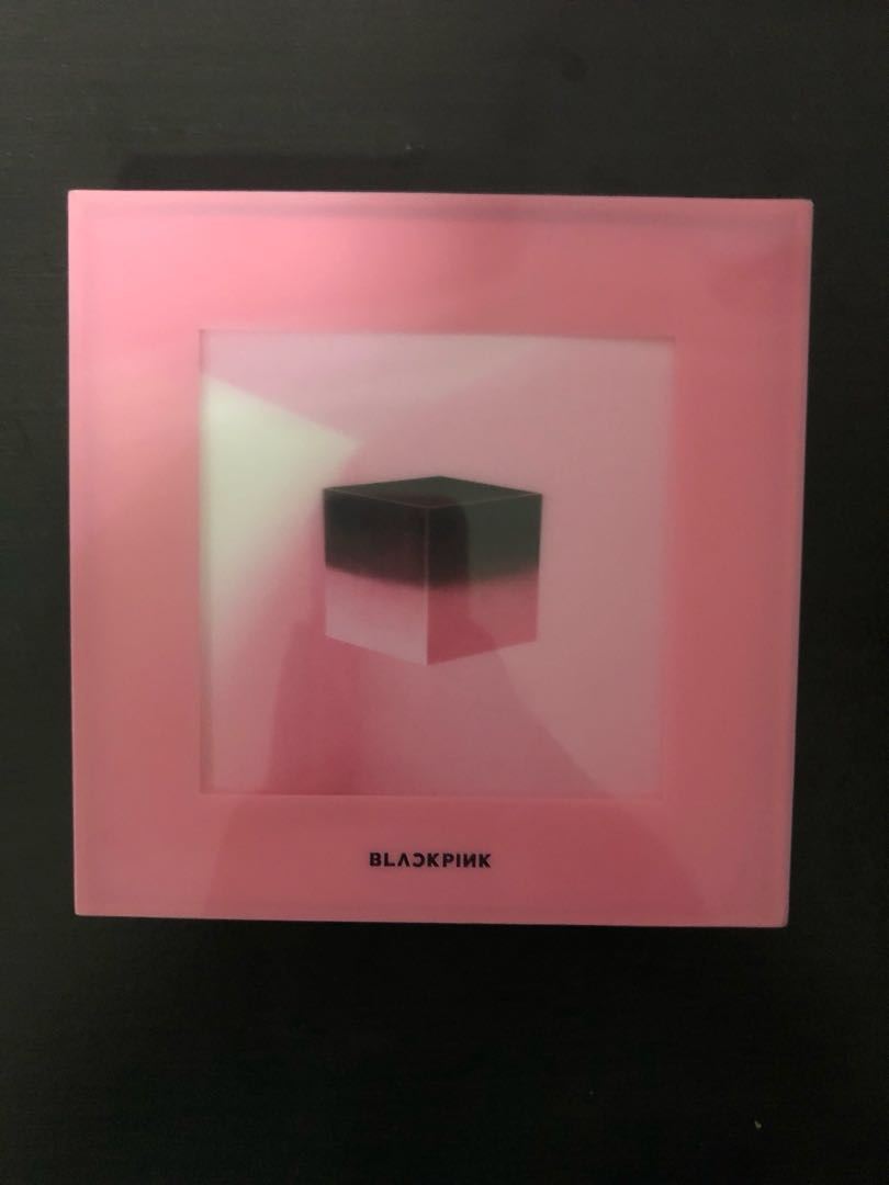 Unsealed Blackpink Square Up Mini Album Pink Version Entertainment