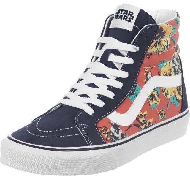 f1a8af1295bfb7 Vans Unisex Sk8-Hi Reissue (Star Wars) Yoda Aloha Sneakers Shoes ...