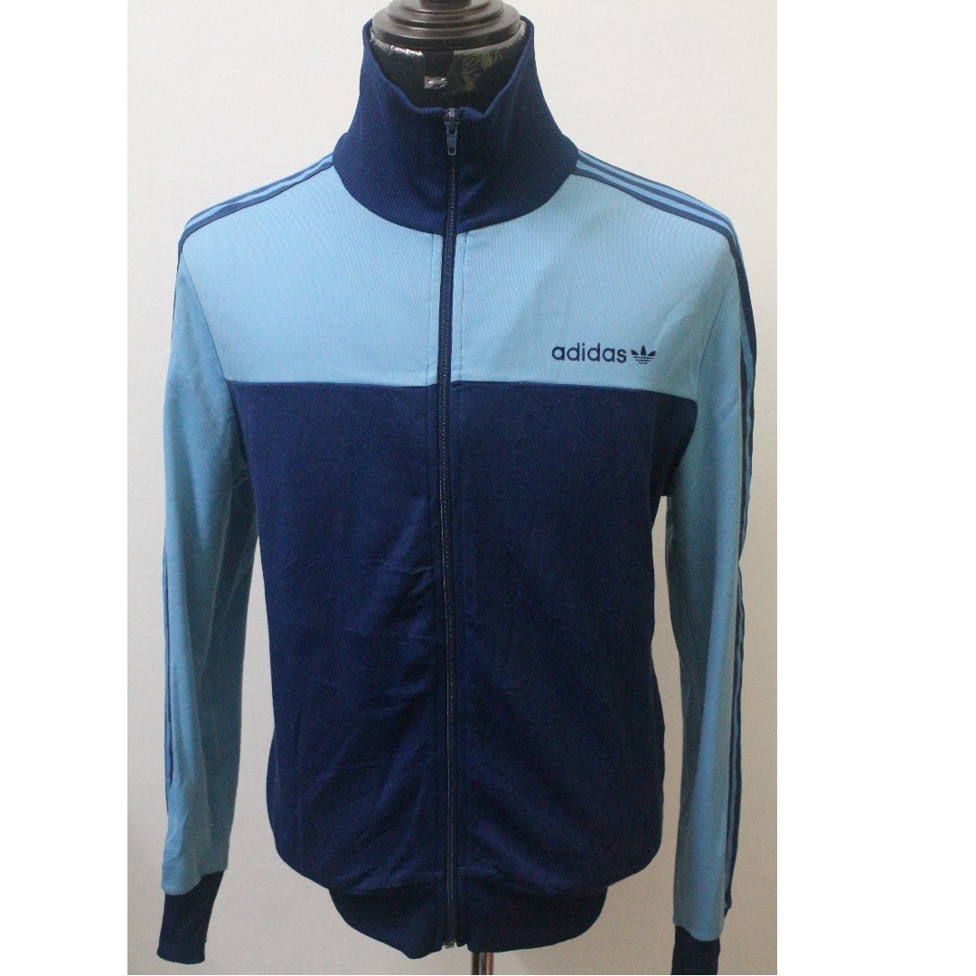5dcced994624 Vintage ADIDAS Trefoil Tracktop Sweater size XL for MEN.
