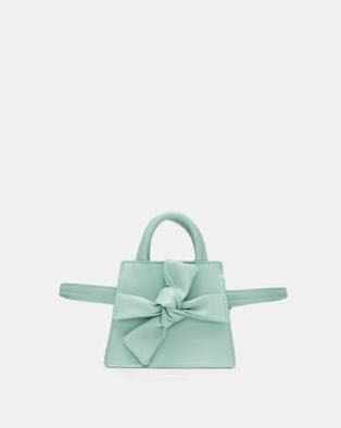 51af9c55 Zara crossbody belt bag with bow, Women's Fashion, Bags & Wallets ...
