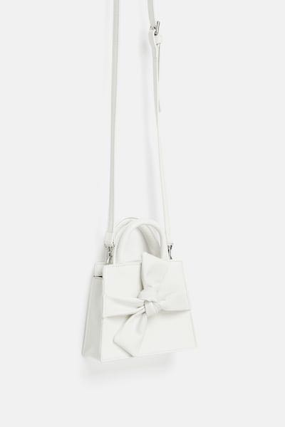 9b316bc1 Zara mini crossbody belt bag with bow, Women's Fashion, Bags ...