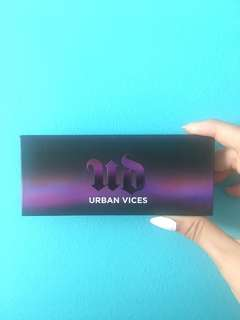 Urban Decay vices palette