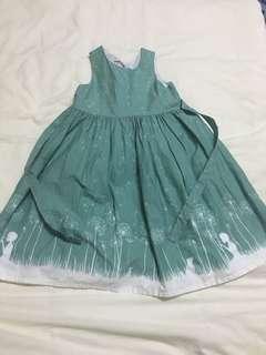 Poppy Blue Sleeveless Dress