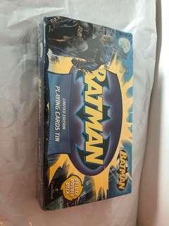 限量版Batman 啤牌