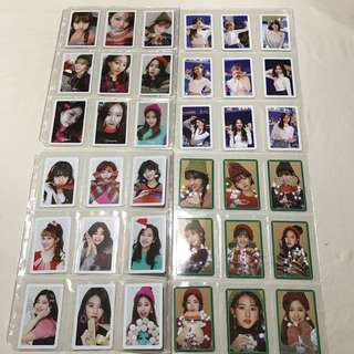 [WTS] Twice - Merry & Happy Photocard Sets