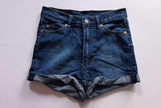 Cheap Monday Denim Shorts Skin Shorts in Heat | Size 27