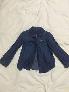 GapKids Blue Long Sleeve Top