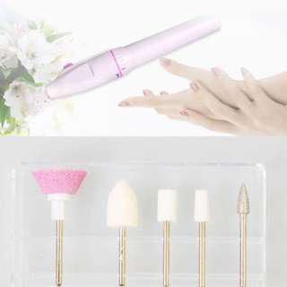 Nail Art Drill File Buffer Polish Manicure Pedicure Acrylic Nail