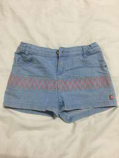 Billieblush Light Blue Denim Shorts