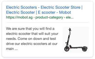 Free $50 voucher for e scooter Mobot