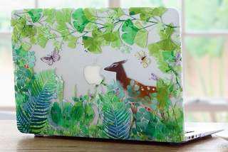 """MacBook Air 13"""" deer garden case"""