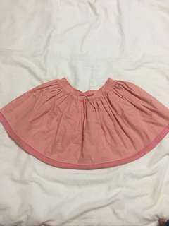 Massimo Dutti Peach Skirt