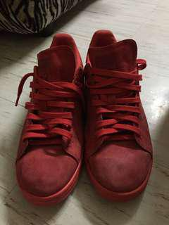 adidas stan smith powder red US size 10. 5 free shipping