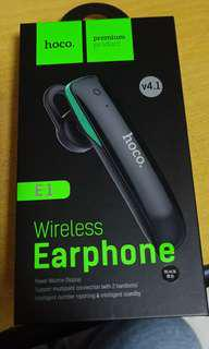 Wireless bluetooth earpiece