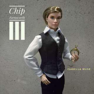Chip Farnsworth III The Beautiful People - Cinematic 2015 Integrity Toys Convention Collection (Homme Male Figure Doll)
