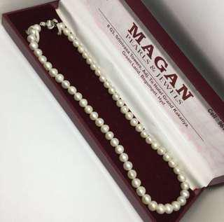 最後一條⭐️100%天然白珍珠