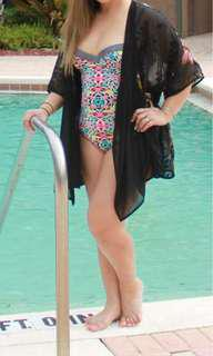Swimsuit and cover up M/L