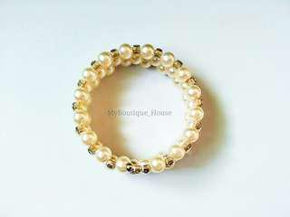 #MidSep50 Crystal Pearl Bracelet
