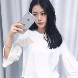 Korean babydoll top