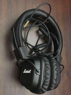 Marshall Major 2 II Headphones Wired