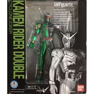 全新日版 SHF 幪面超人 Kamen Rider Double w cyclone joker