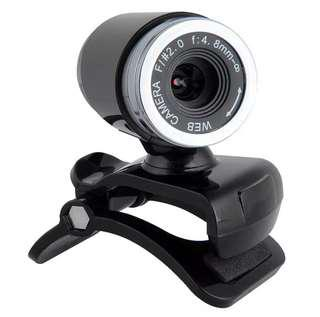 Webcam 50 Mega Pixel HD Web Camera with Mic for Laptop Desktop PC
