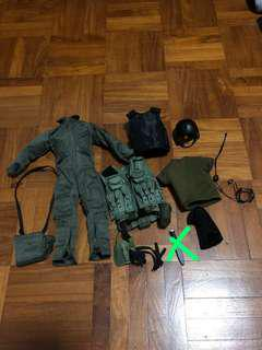 1/6 navy seal accessories