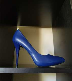 Beautiful Leather Platform Pointed Toe High Heels*Shoes*