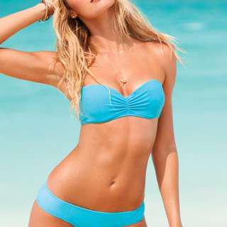 Victoria's Secret blue bikini top