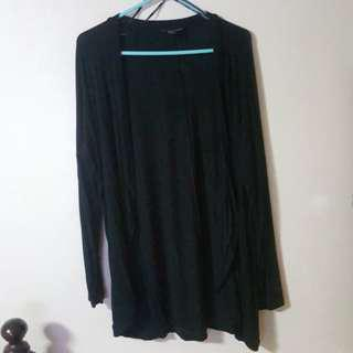 Forever 21+ Plus Size Black Cardigan 1X